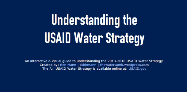 USAID water strategy preview
